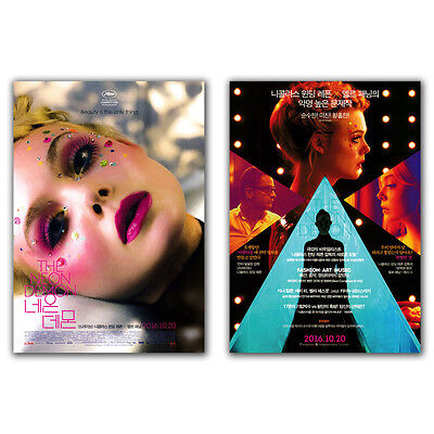 The Neon Demon Movie Film Poster Elle Fanning, Jena Malone, Nicolas Winding Refn