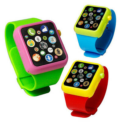 Baby Kid Child Educational Smart Watch Early Learning 3D Touch Screen Music Toy