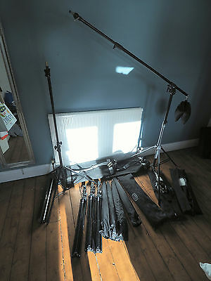 Bowens Esprit 2 500 lighting kit (4 flashes) & many accessories