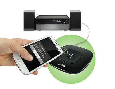 Belkin HD Bluetooth Music Receiver with NFC Technology for iPhone iPod Galaxy EU