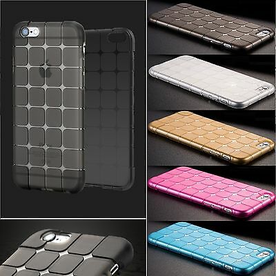 Shockproof Cube Protective Silicone Gel TPU Case Cover for Samsung Galaxy Phones