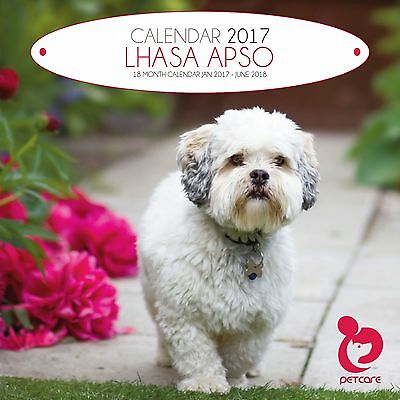 Lhasa Apso Dog Calendar 2017 with free pull out planner