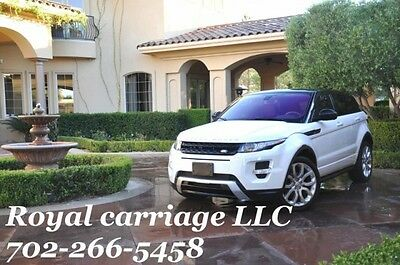 2015 Land Rover Range Rover Dynamic Sport Utility 4-Door 2015 Land Rover Range Rover Evoque 5dr HB Dynamic