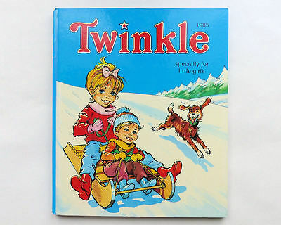 Vintage 1985 TWINKLE Specially For Little Girls Annual Book 1980's Childrens