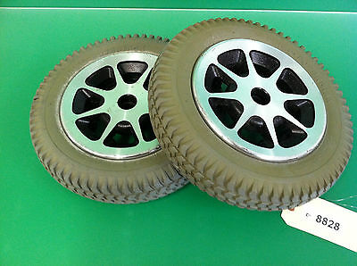 Wheels and Tires for Jazzy 1120 3.00-8 - Solid Foam Filled  ~set of 2~ #8828