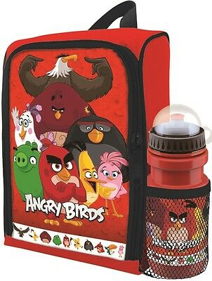 Angry Birds Movie Insulated School Lunch Bag | Box | Packed Lunch & Bottle Set