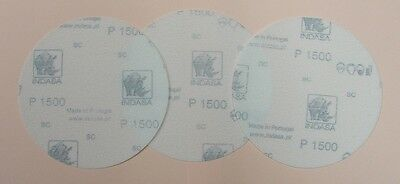 Lot De 3 Disques Film Abrasif Special Plexiglass Polycarbonate P1500 Diam 75