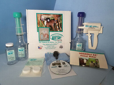 Udderly EZ Goat Colostrum Milker Kit Perfect for Milking at Home