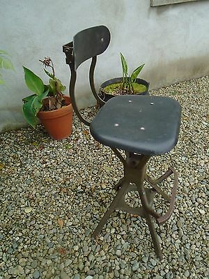 Vintage Industrial/ Factory  Machinists Chair