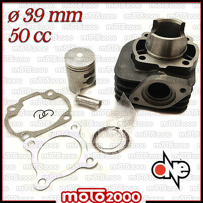 Kit Cilindro Gruppo Termico One D.39 Per Kymco Top Boy 50 1997 1998 1999 2001