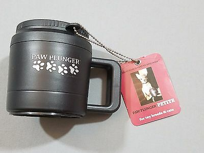Paw Plunger Petite Cleaner Used