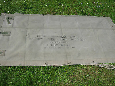 Army Vehicle Canvas, Bedford MJ Side sheet. #2