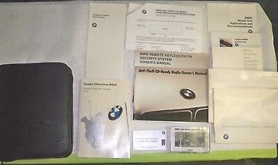 1995 BMW 318ti E36 Owners Manual Set and Case
