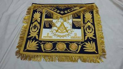 Masonic Regalia Grand Lodge Past Master Apron  Blue