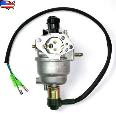 Carburetor with Solenoid for Honda GX270 GX390 Generator 9HP 13 HP Engine Carb