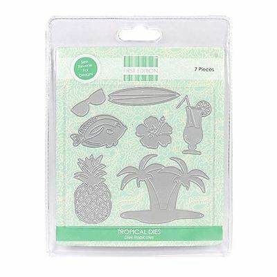 Trimcraft First Edition Metal Paper Card Craft Die Set - Tropical