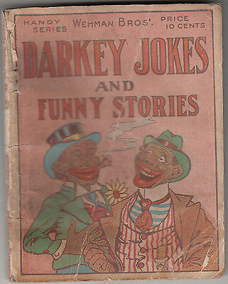 Wehman Bros.- Darky Jokes and Funny Stories- 1916