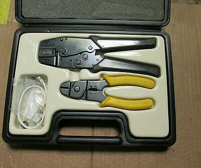 Termination Kit - For Telephone Wire  Connections - Crimping + Stripping