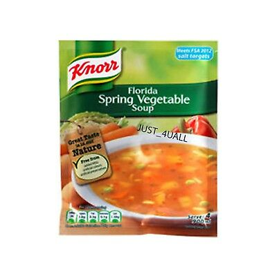3 X 48g KNORR FLORIDA SPRING VEGETABLE SOUP - PERFECT FOR WEATHER