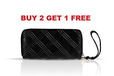 Women Fashion Purse HandbagLady Leather Clutch Wallet Long Card Holder Case New
