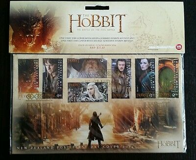 ORIGINAL!!! Der Hobbit *First day cover* Briefmarken Herr der Ringe UNGEÖFFNET!