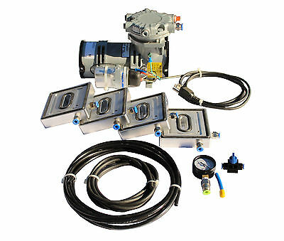 VACUUM CLAMPS PODS Vacuum Pump Package for CNC Machining & WOODWORKING