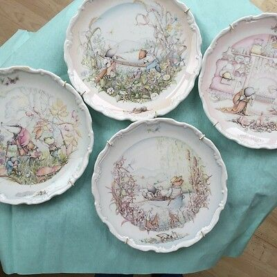 Royal Doulton Wind in the Willows plates x4