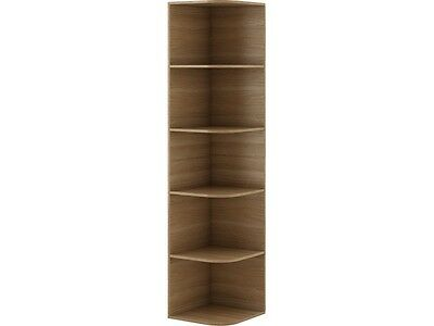 Corner shelf 40 cm Gusto G-02 Oak Natural rack Book Bookcase