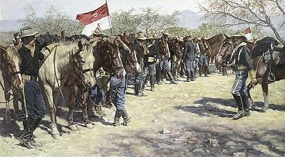 """/""""Arrival at Fort Leavenworth 1882 /"""" Don Stivers Commemorative Edition Print"""