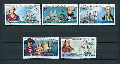 Malagasy #525/C139 used, War Ships