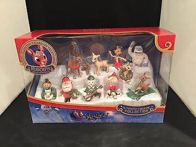 Rudolph The Red Nose Reindeer Ultimate Figurine Collection Kids Gift NEW 2016