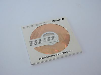 Genuine Microsoft Office 2003 Pro Professional Edition - MS Word MS Excel