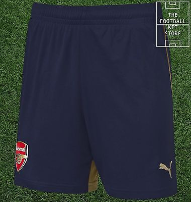 Arsenal Away Shorts  - Official Puma Boys Football Shorts - All Sizes