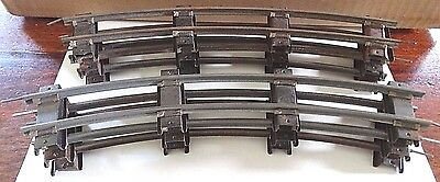 AMERICAN FLYER S scale TRACK - 6 CURVE Sections