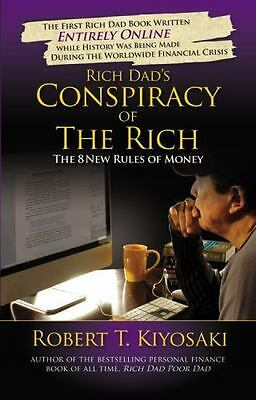 Rich Dad's Conspiracy of the Rich by Robert Kiyosaki FREE SHIPPING series/poor