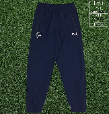 Arsenal Training Pants - Official Puma Boys Football Training Wear - All Sizes