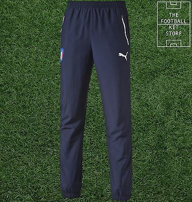 Italy Track Pants - Official Puma Boys Football Training Wear - All Sizes