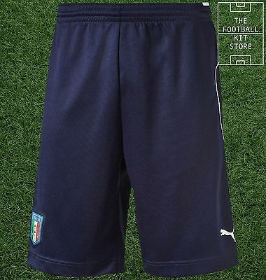 Italy Training Shorts - Official Puma Boys Football Training Wear - All Sizes