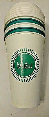 Aladdin Reusable 16oz. To-Go Cups w/Travel Lids BPA Free Plastic Set of 5 Green
