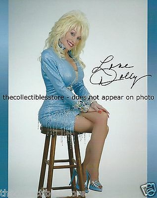 Dolly Parton Dollywood Country Music Autographed Signed Replica (B) 8 X 10 Photo