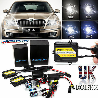 H7 H7R Xenon HID Conversion Kit 55W Canbus Pro Fits Skoda Rapid ...