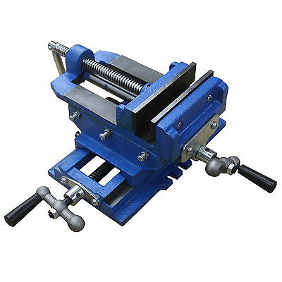 "HFS 5"" Cross Slide Drill Press Vise"