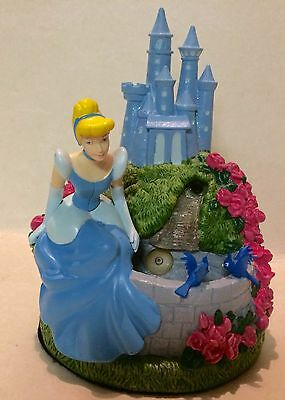 Disney Cinderella Water Fountain Light Up Battery Operated