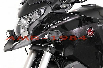 SET BRACKETS HONDA 1200 CROSSTOURER for SPOTLIGHTS HALOGENS HAWK FOG LIGHT MOTO