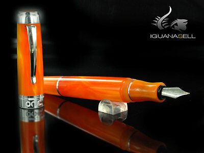 Marlen One Fountain Pen, Resin, Orange, M14-103-OR , F