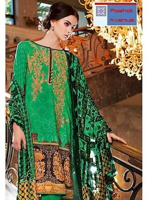 Gul Ahmed 100% Original Winter Collection 2016 Unstitched Suit VL-39