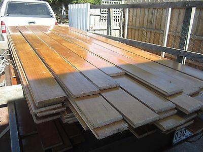 Tas Oak Timber Floorboards Recycled- 130mm x 18mm 20.6 sqm $600 BARGAIN PACK