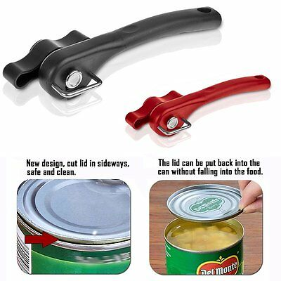 Professional Stainless Steel Safety Side Cut Manual Can Tin Opener Kitchen Tools