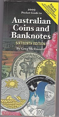 The Pocketbook Guide for Australian Coins & Banknotes,Greg McDonald 16th Edition