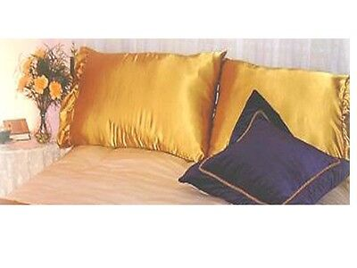 """20"""" x 40"""" Home Decor LUXURY cotton MAGENTA Pillow Case / COVER 2 in 1 Set"""